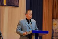С докладом «Самореализация» выступил и.о. руководителя направления Корпорация, Сабада Д.А.