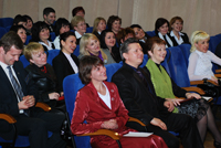 Руководитель Системы Миание М.Ю. и лидеры Системы слушают доклады