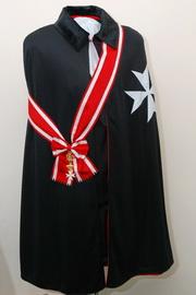 Мантия, Крест и Лента Рыцаря Мальтийского Ордена